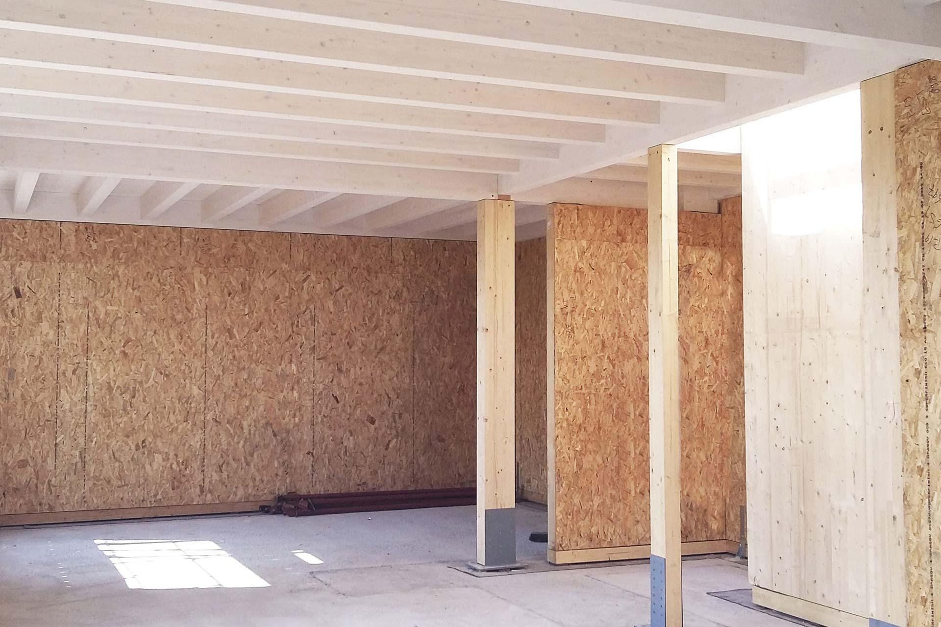 Pannelli Legno Senza Formaldeide pareti con pannelli a telaio | agenzia selmi: legnami